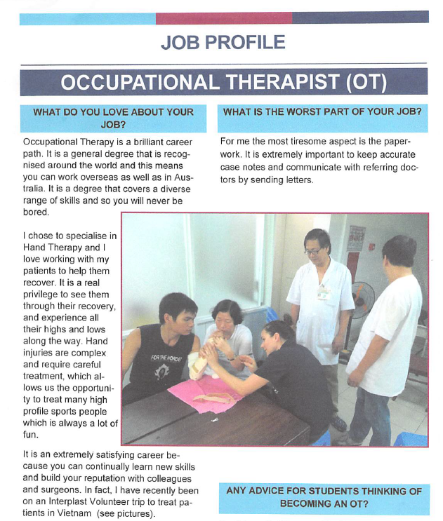 Occupational Therapy Job